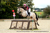 St Gabriel's NSEA Arena Eventing at Wickstead - 7/10/17